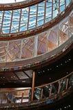 абстрактное архитектурноакустическое предсердие Стоковая Фотография