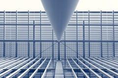 абстрактное архитектурноакустическое Стоковые Фотографии RF