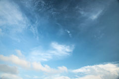 Абстрактное белое облако Стоковое фото RF