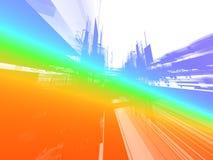 абстрактное будущее предпосылки Стоковая Фотография RF