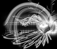 абстрактное Валентайн дня s предпосылки Стоковая Фотография RF
