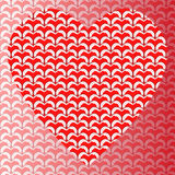 абстрактное Валентайн карточки Стоковое фото RF