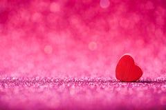 абстрактное Валентайн сердца предпосылки Стоковая Фотография RF