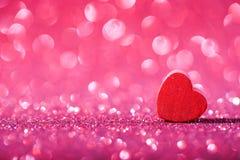 абстрактное Валентайн сердца предпосылки Стоковые Фото