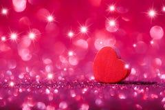 абстрактное Валентайн сердца предпосылки Стоковое фото RF