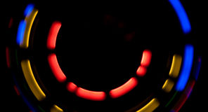 Абстрактное движение освещает футуристическую предпосылку Стоковое фото RF