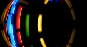 Абстрактное движение привело света Стоковые Фотографии RF