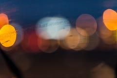 абстрактное движение светов Стоковое Фото