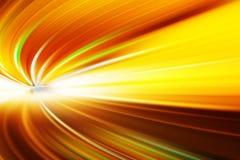 Абстрактное движение скорости в урбанском тоннеле дороги хайвея Стоковая Фотография RF