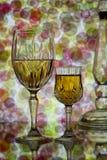 абстрактное вино стекел предпосылки стоковое фото