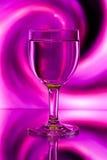 абстрактное вино стекел backlight Стоковая Фотография