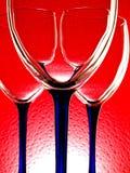 абстрактное вино стеклоизделия конструкции Стоковые Фото