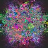 Абстрактное волшебное colorfull брызгает предпосылку Стоковое фото RF
