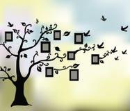 Абстрактное волшебное дерево жизни иллюстрация вектора