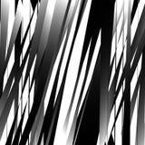 Абстрактное геометрическое искусство с нервными, угловыми формами Случайно заказ Стоковое фото RF