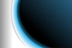 абстрактное голубое свечение предпосылки Стоковое Фото