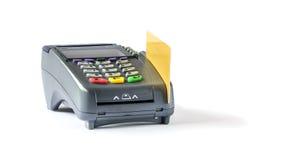 абстрактное голубое фото кредита карточки Стоковые Фото