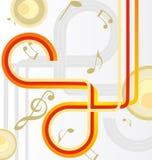 абстрактное диско карточки Стоковое Фото
