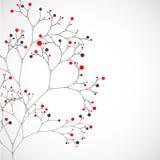 Абстрактное дерево Предпосылка вектора Стоковое Фото
