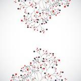 Абстрактное дерево Предпосылка вектора Стоковые Изображения