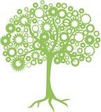 Абстрактное дерево Стоковое Изображение RF