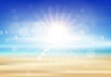 абстрактное лето предпосылки Стоковая Фотография RF