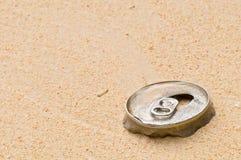 абстрактное загрязнение пляжа Стоковое Фото