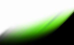 Абстрактное зарево зеленого цвета Стоковое фото RF