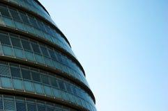 абстрактное здание муниципалитет Стоковые Фото