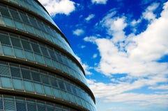 абстрактное здание муниципалитет Стоковые Изображения