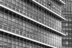 абстрактное здание самомоднейшее Стоковая Фотография