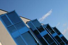 абстрактное здание самомоднейшее Стоковое фото RF