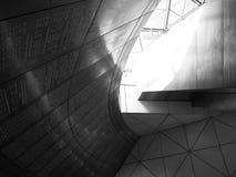 Абстрактное здание, стальная текстура Стоковое фото RF