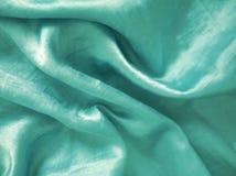 Абстрактное зеленое чувство silk ткани Стоковые Фотографии RF