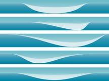 абстрактное знамя предпосылки иллюстрация штока