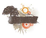 абстрактное знамя Стоковые Изображения