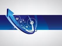 абстрактное знамя Стоковое Фото