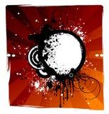 абстрактное знамя Стоковое фото RF