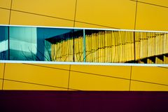 абстрактное зодчество Стоковые Изображения RF