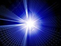 абстрактное зодчество 3d Стоковая Фотография RF