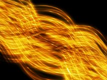 абстрактное золото предпосылки Стоковая Фотография RF