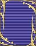 абстрактное золото сини предпосылки Стоковые Фото