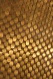 Абстрактное золотое движение нерезкости Стоковое Изображение RF
