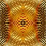 Абстрактное золото предпосылки круга Иллюстрация вектора