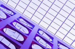 абстрактное здание предпосылки самомоднейшее Стоковое Фото