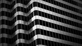 Абстрактное здание Стоковое Изображение