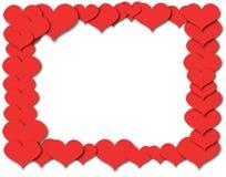 Абстрактное изображение вектора сердца картины Стоковые Фотографии RF