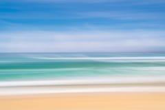 Конспект океана, ветра и волн Стоковые Изображения RF