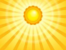 Абстрактное изображение 7 темы солнца Стоковая Фотография RF