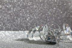 Абстрактное изображение украшений рождества праздничных Стоковое фото RF